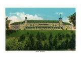 Hershey, Pennsylvania, Exterior View of the Hotel Hershey Prints by  Lantern Press