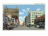 Buffalo, New York, View Down Main Street Posters by  Lantern Press