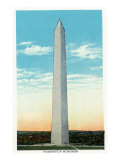 Washington, DC, Exterior View of the Washington Monument Prints by  Lantern Press