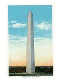 Washington, DC, Exterior View of the Washington Monument Prints