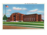 Buffalo, New York, Exterior View of the New 106th Field Artillery Armory Posters