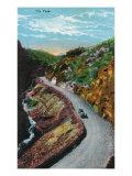 Manitou Springs, Colorado, View of Ute Pass Print by  Lantern Press