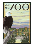 Visit the Zoo, Eagle and the Wetlands Print