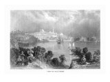 Baltimore, Maryland, View of the City from across Chesapeake Bay Prints by  Lantern Press