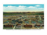 Boulder City, Nevada, Panoramic View of the Town for the Hoover Dam Workers Prints by  Lantern Press