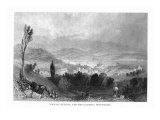 New York, Panoramic View of the Hudson and the Catskill Mountains Prints by  Lantern Press