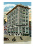 Binghamton, New York, Exterior View of the People's Trust Company Prints by  Lantern Press