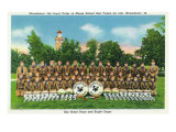 Mooseheart, Illinois, View of the Boy Scout Drum and Bugle Corps Poster
