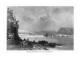 Northumberland, Pennsylvania, View of the Town from the Susquehanna River Posters