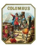 Columbus Brand Cigar Box Label, Christopher Columbus Prints by  Lantern Press