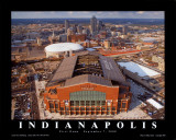 Lucas Oil Stadium - Indianapolis Colts Poster