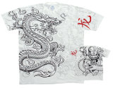 Fantasy - White Dragon T-skjorter