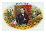 Erin's Pride Brand Cigar Box Label, Robert Emmet, Irish Nationalist Prints