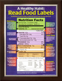 A Healthy Habit: Read Food Labels Print