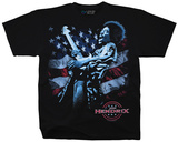 Jimi Hendrix- American Guitar God T-shirts