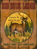 Big Buck Lodge Prints by Debi Hron