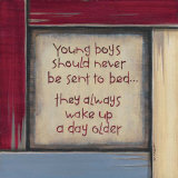 Young Boys Posters by Karen Tribett