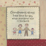 Grandparents Print by Karen Tribett