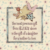 Daughter to Love Prints by Jo Moulton