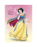 Snow White Shimmer Print
