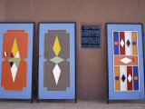 Colorful Doors Made by Local Metalworkers, Morocco Photographic Print by John & Lisa Merrill