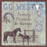 Go West Art by Anita Phillips