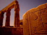 Khepphri (Scarab) Wall Carving at the Temple of Karnak, Egypt Photographic Print by Stuart Westmoreland