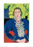 La Blouse Bleue, c.1936 Posters par Henri Matisse