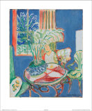 Petit Interieur en Bleu, c.1947 Poster by Henri Matisse