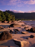 Late Afternoon Light on Beauvallon Bay, Seychelles Photographic Print by Nik Wheeler