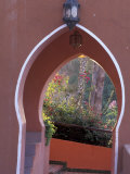 Arched Door and Garden, Morocco Photographic Print by John & Lisa Merrill