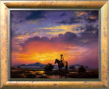 Western Landscape Print by Jack Sorenson