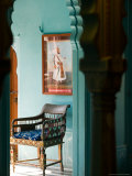Maharaja&#39;s Bedroom in the City Palace, Rajasthan, India Photographic Print by Walter Bibikow