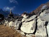 Tengboche Monastery, Nepal Photographic Print by Vassi Koutsaftis