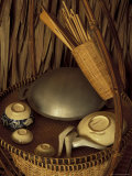 Traditional Food Basket, Vietnam Photographic Print by Keren Su