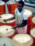 Calypso Band Cats n' Jama, Tobago, Caribbean Photographic Print by Greg Johnston