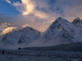 Kangshung Glacier, Tibet Photographic Print by Vassi Koutsaftis