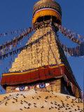 Vassi Koutsaftis - Swayanbunath, Kathmandu, Nepal Fotografická reprodukce