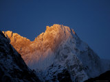 Sunrise on Chomolonzo, Tibet Photographic Print by Vassi Koutsaftis