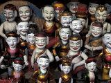 Water Puppets, Hanoi, Vietnam Lámina fotográfica por Keren Su