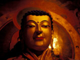 Gyentse Buddha Statue, Tibet Photographic Print by Vassi Koutsaftis