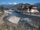 Historic Buddhist Monastery, Bhutan Photographic Print by Vassi Koutsaftis
