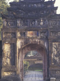 Gate Tower of the Imperial City, Hue, Vietnam Photographic Print by Keren Su