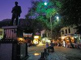 Village of Kas at Night, Turquoise Coast, Turkey Photographic Print by Nik Wheeler