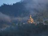 The Crown Prince&#39;s Temple, Bhutan Photographic Print by Vassi Koutsaftis