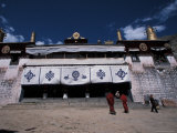 Sera Monastery, Lhasa, Tibet Photographic Print by Vassi Koutsaftis