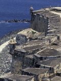El Morro Fort, Old San Juan, Puerto Rico Photographic Print by Greg Johnston