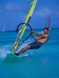 Windsurfer, Aruba, Caribbean Photographic Print by Robin Hill