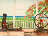 18th Century Rum Distillery, Marie-Galante Island, Guadaloupe, Caribbean Photographic Print by Walter Bibikow