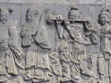 Taoist Bas Relief in Museum of Choijin Lama, Mongolia Photographic Print by Keren Su